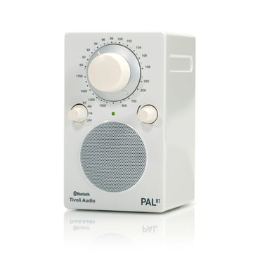 Tivoli Audio - Model PAL BT, weiss/ weiss