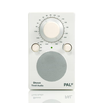 Tivoli Audio - Model PAL BT, weiss / weiss