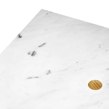 Normann Copenhagen - Solid Couchtisch - Marmor, Oberfläche