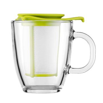 Bodum - Yo-Yo Set - Glastasse, Kunststofffilter 0.35l, limette