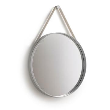 Strap Mirror 50 cm von Hay in Grau