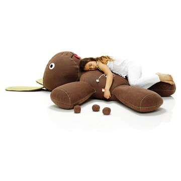 Fatboy, Kaninchen XS - Situation mit Mädchen, schlafend