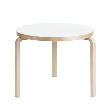 Artek - Tisch 90B weiss