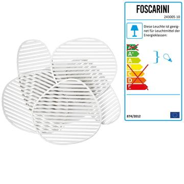 Foscarini - Nuage Wand- und Deckenleuchte, weiss