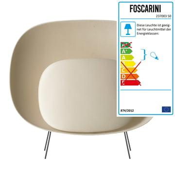 Foscarini - Stewie Stehleuchte, elfenbein