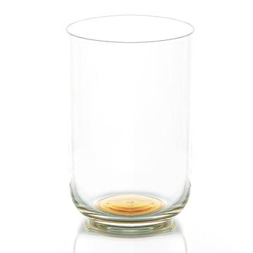 Colour Glass Wasserglas hoch von Hay mit goldenem Punkt