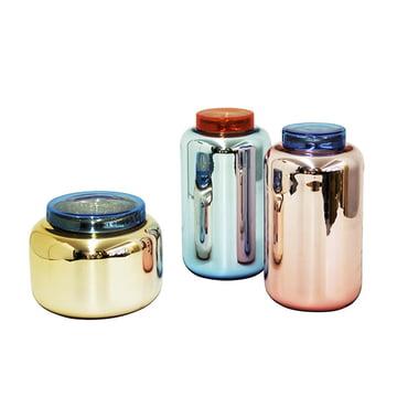 Pulpo - Container Vase -Gruppe, Farben