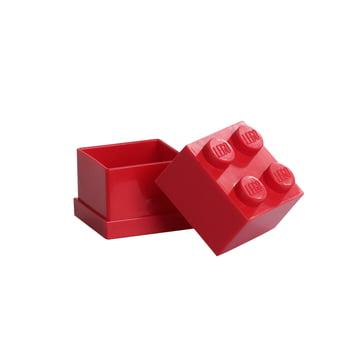 Lego - Mini-Box 4, rot - offen