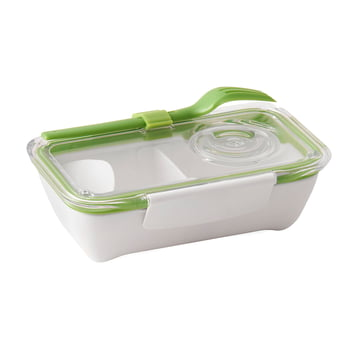 Box Appetit Bento Box von Black + Blum in Lime / Weiss