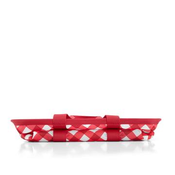 reisenthel - mini maxi basket, square red - zusammengefaltet