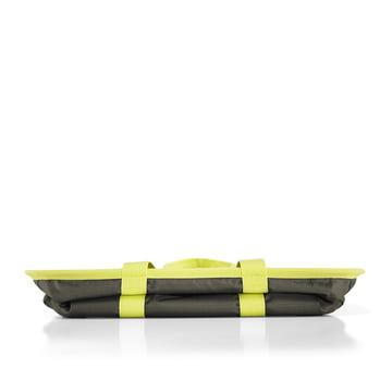 reisenthel - mini maxi basket, dark olive - zusammengefaltet