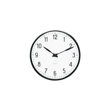 Rosendahl Timepieces - AJ Station Wanduhr, Ø 16 cm