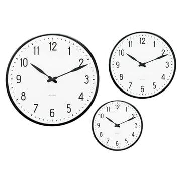 Rosendahl Timepieces - AJ Station Wanduhr - Gruppe, Grössen
