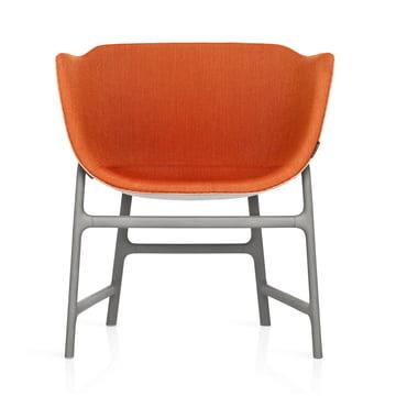 Fritz Hansen - Minuscule Stuhl, grau 123, orange 443 - vorne
