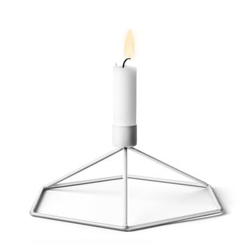 Menu - POV Tisch-Kerzenhalter, weiss