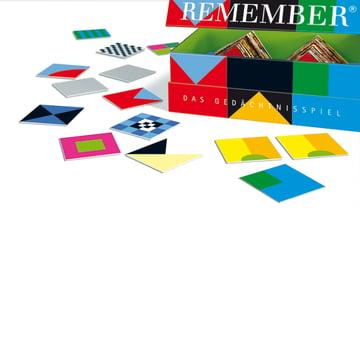 Remember - Gedächtnisspiele, Signale - Box, mit Karten