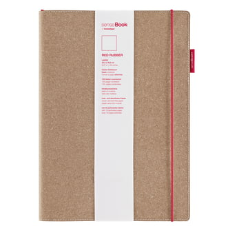 Holtz - sense Book Red Rubber, large