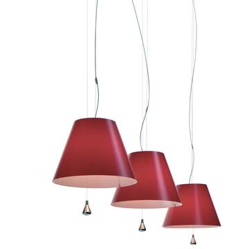 Luceplan - Costanza Pendelleuchte, rot