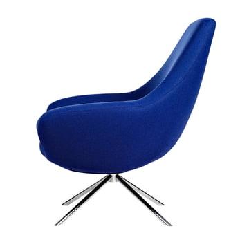 Softline - Noomi Lounge Sessel, blau - Seite