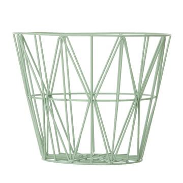 Wire Basket von ferm Living in Mint
