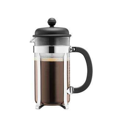 Bodum - Caffettiera Kaffeebereiter, 0.35 l, schwarz