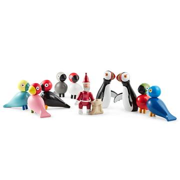 Singvögel, Papageientaucher und Weihnachtsmann von Kay Bojesen Denmark