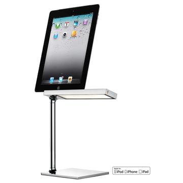 Flos - D'E Light Tischleuchte Chromo iPad 2013