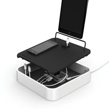 Bluelounge - Sanctuary4 USB-Ladeschale, weiss