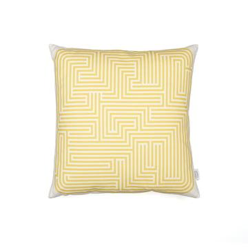 Kissen Maze von Vitra in senf 40x40