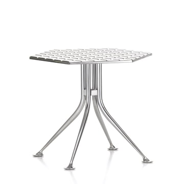 Vitra - Hexagonal Table, Aluminium poliert