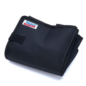 PackIt - Einkaufs-Kühltasche, schwarz - gefaltet