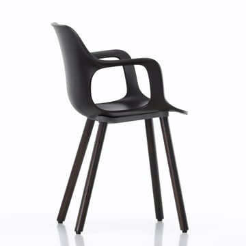 Hal Wood Armlehnstuhl von Vitra in schwarz