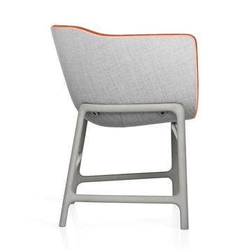 Fritz Hansen - Minuscule Stuhl, grau 123, orange 443 - Seite