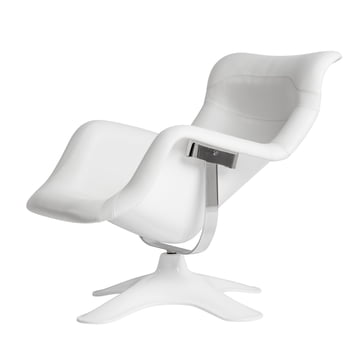 Artek - Karuselli Lounge Chair, weiss / weiss