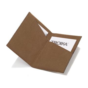 Kniff 2 S-Grip Visitenkartenhalter von Troika in Braun