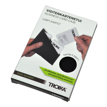 Verpackung Kniff 2 S-Grip Visitenkartenhalter