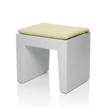 Fatboy - Concrete Seat, hellgrau, Kissen citrus-weave