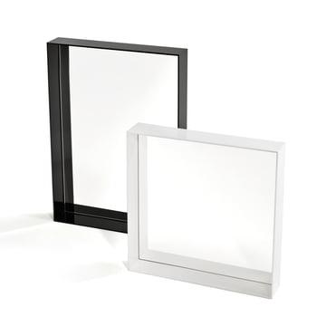 Kartell - Only Me Spiegel, schwarz 50 x 70 cm, weiss 50 x 50 cm