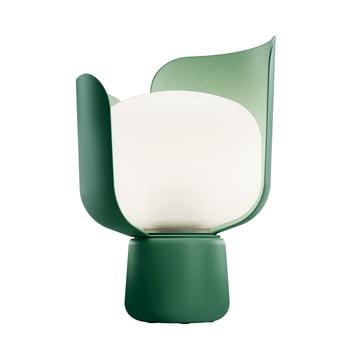 Blom Tischleuchte von FontanaArte in Grün