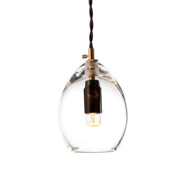 Die Northern Lighting - Unika Pendelleuchte in klein, transparent