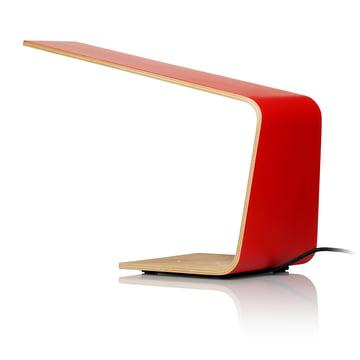 Led 1 Tischleuchte von Tunto in Rot