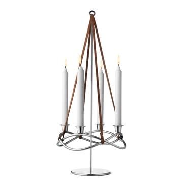 Season Kerzenhalter-Erweiterung matt von Georg Jensen