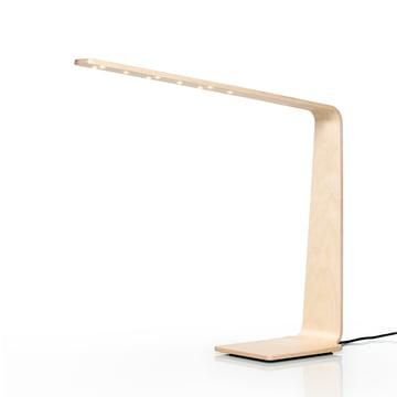 LED 4 Tischleuchte von Tunto aus Birke
