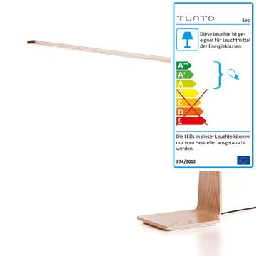 LED 4 Tischleuchte von Tunto aus Eiche Natur