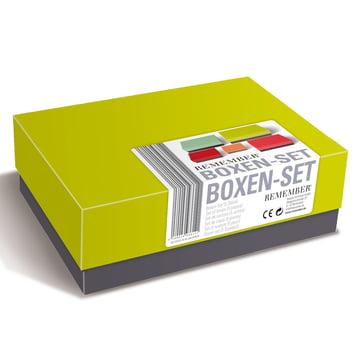 Remember - Due Colori Boxenset, zusammengepackt