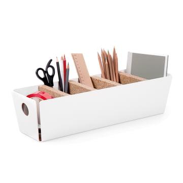 Konstantin Slawinski - Shuffle-Box Tischbox, weiss, Deko Office