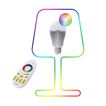 Moree - 9W RGBW Multicolor LED + Fernbedienung