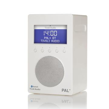 Tivoli Audio - Pal+ BT, glänzend weiss / weiss