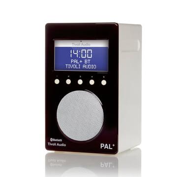 Tivoli Audio - Pal+ BT, glänzend schwarz / weiss