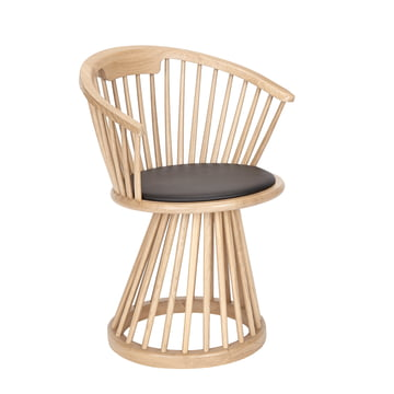 Fan Dining Chair von Tom Dixon aus Eiche Natur